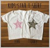 KIDS星プリントTシャツ