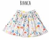 BIANCA子供服★プリントギャザースカート