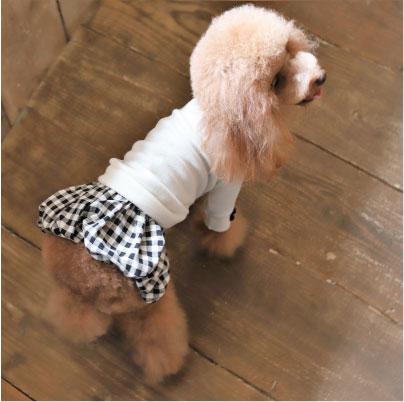 画像2: チェックバルーンスカート