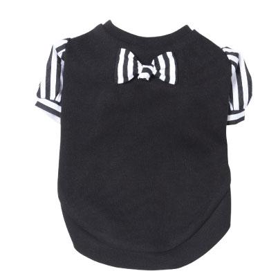 画像2: ストライプパフ袖tシャツ